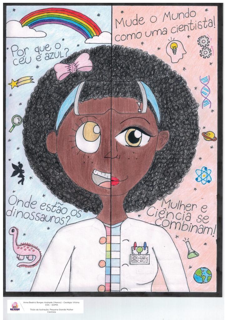 Ilustração da estudante Anna Beatriz Borges