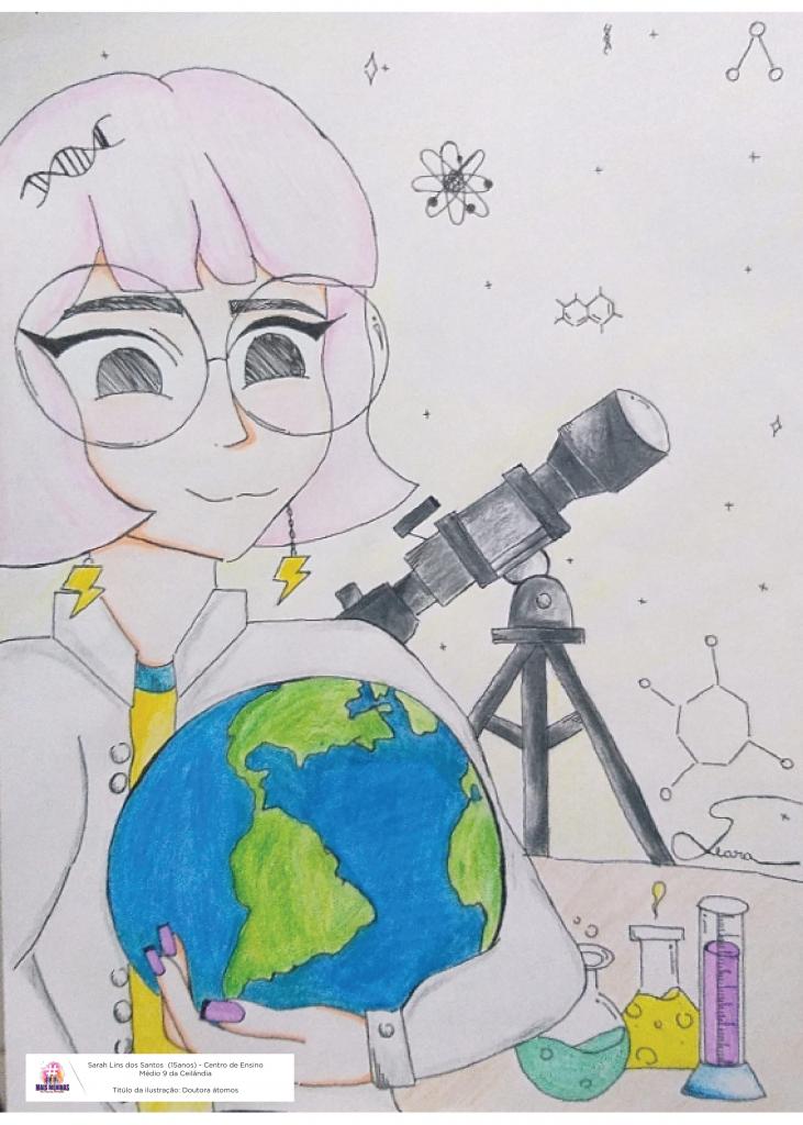 Ilustração da estudante Sarah Lins